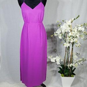 J Crew pink  Maxi dress